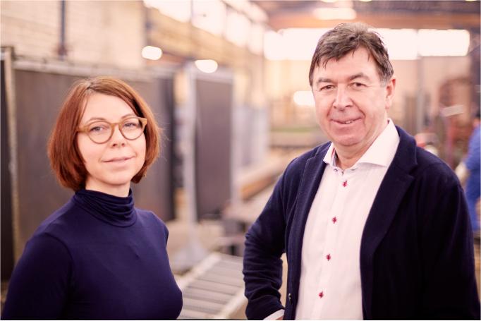 Gesellschafter Nadine Ruelfs & Jürgen Porath